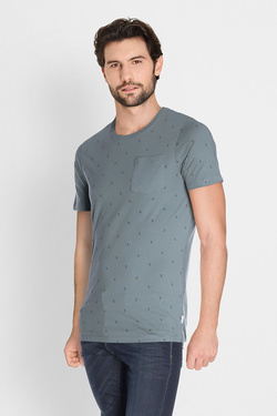 Tee-shirt JACK AND JONES 12134851 Vert