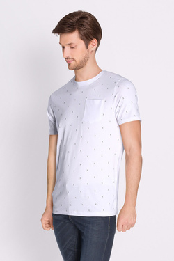Tee-shirt JACK AND JONES 12134851 Blanc