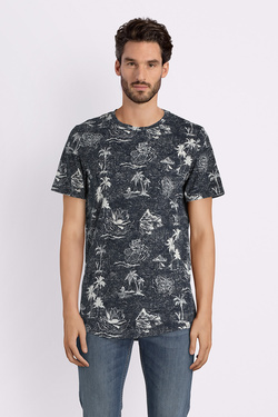 Tee-shirt JACK AND JONES 12131741 Bleu marine