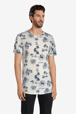 Tee-shirt JACK AND JONES 12131741 Blanc