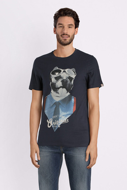Tee-shirt JACK AND JONES 12132533 Bleu marine