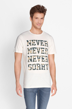 Tee-shirt JACK AND JONES 12133840 Blanc