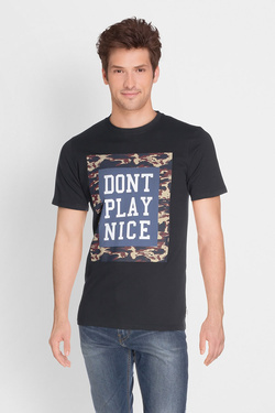 Tee-shirt JACK AND JONES 12133840 Noir