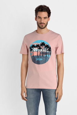 Tee-shirt JACK AND JONES 12132547 Rose