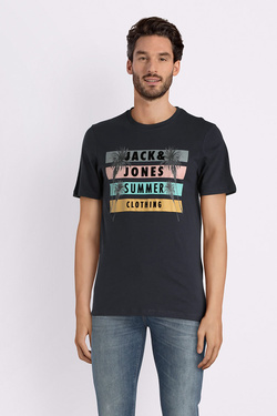 Tee-shirt JACK AND JONES 12132547 Bleu foncé