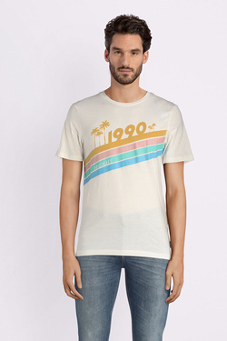 Tee-shirt JACK AND JONES 12132547 Blanc