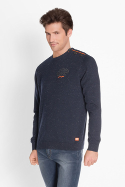 Pull JACK AND JONES 12132520 Bleu marine