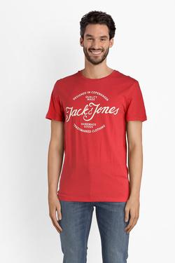 Tee-shirt JACK AND JONES 12135576 Rouge