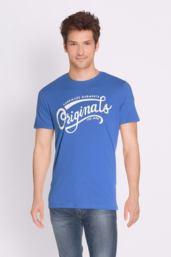 Tee-shirt JACK AND JONES 12135576 Bleu