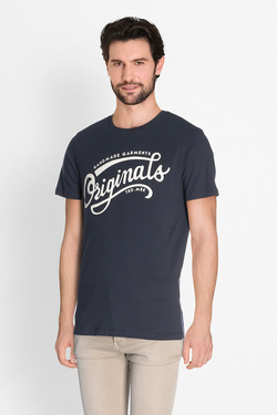 Tee-shirt JACK AND JONES 12135576 Bleu marine
