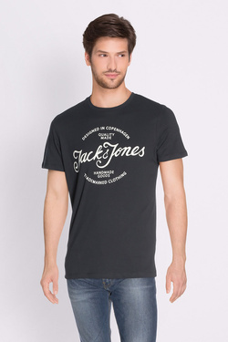 Tee-shirt JACK AND JONES 12135576 Noir