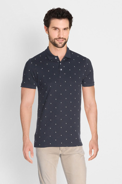 Polo JACK AND JONES 12134850 Bleu