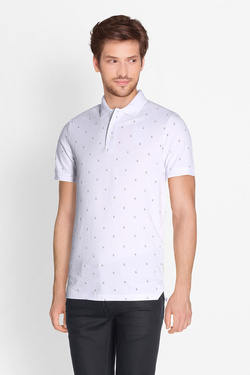 Polo JACK AND JONES 12134850 Blanc