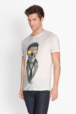 Tee-shirt JACK AND JONES 12135808 Blanc