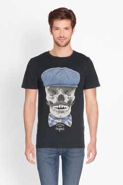 Tee-shirt JACK AND JONES 12135808 Noir