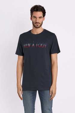 Tee-shirt JACK AND JONES 12132507 Bleu marine