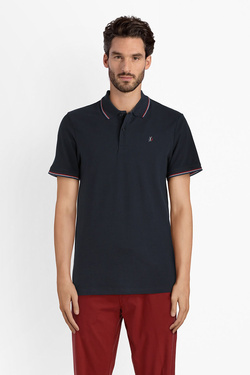 Polo JACK AND JONES 12132505 Bleu marine