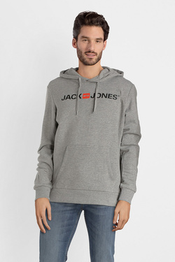 Sweat-shirt JACK AND JONES 12137054 Gris