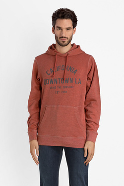 Sweat-shirt JACK AND JONES 12137378 Rouge