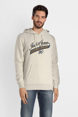 Sweat-shirt JACK AND JONES 12137102 Blanc cassé