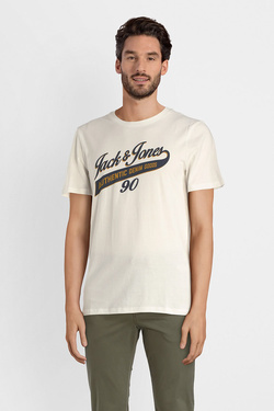 Tee-shirt JACK AND JONES 12137122 Blanc