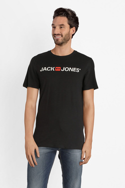 Tee-shirt JACK AND JONES 12137126 Noir