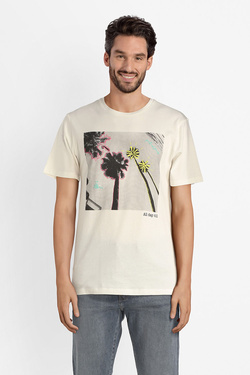 Tee-shirt JACK AND JONES 12137880 Blanc