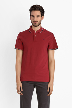 Polo JACK AND JONES 12136522 Rouge bordeaux