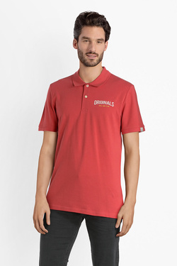 Polo JACK AND JONES 12137802 Rouge