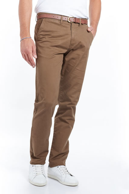 Pantalon chino coupe droite JACK AND JONES