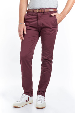 Pantalon JACK AND JONES 12139786 Rouge bordeaux