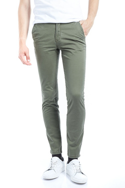 Pantalon JACK AND JONES 12127367 Vert kaki