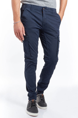 Pantalon JACK AND JONES 12140324 Bleu marine