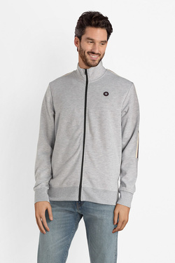 Sweat-shirt JACK AND JONES 12140125 Gris