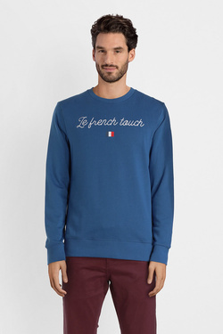 Sweat-shirt JACK AND JONES 12141817 Bleu