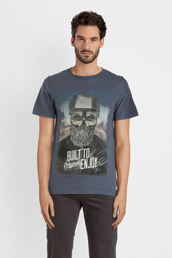 Tee-shirt JACK AND JONES 12142243 Noir
