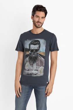 Tee-shirt JACK AND JONES 12142243 Bleu marine