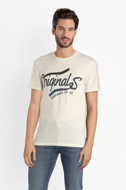 Tee-shirt JACK AND JONES 12141782 Blanc