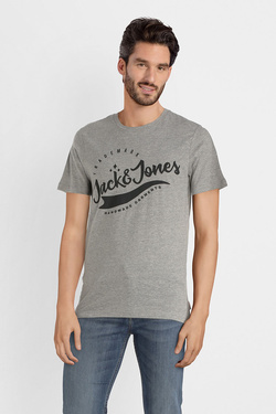Tee-shirt JACK AND JONES 12141782 Gris