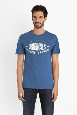 Tee-shirt JACK AND JONES 12141782 Bleu
