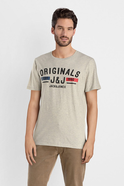 Tee-shirt JACK AND JONES 12141823 Blanc