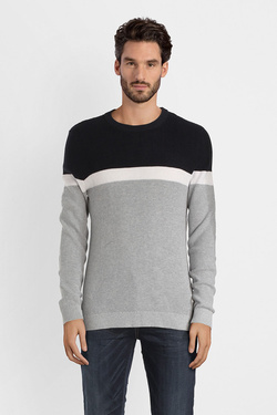 Pull JACK AND JONES 12141321 Gris