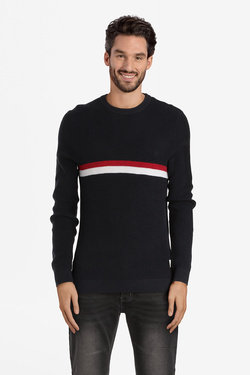 Pull JACK AND JONES 12141321 Bleu marine