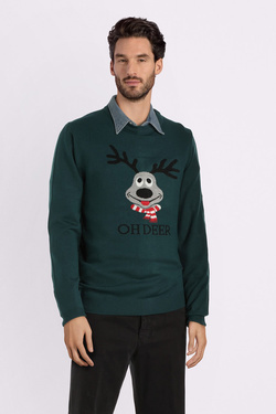 Pull JACK AND JONES 12142999 Vert