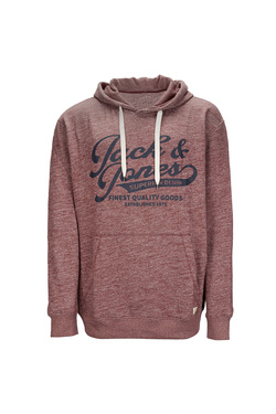 Sweat-shirt JACK AND JONES 12143861 Rouge bordeaux
