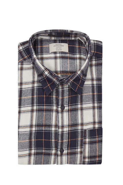 Chemise flanelle écossaise JACK AND JONES