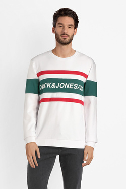 Sweat-shirt JACK AND JONES 1245416 Blanc