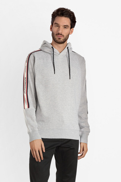 Sweat-shirt JACK AND JONES 12145372 Gris clair