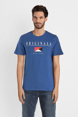 Tee-shirt JACK AND JONES 12145873 Bleu