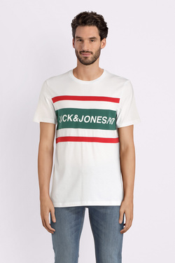 Tee-shirt JACK AND JONES 12147429 Blanc